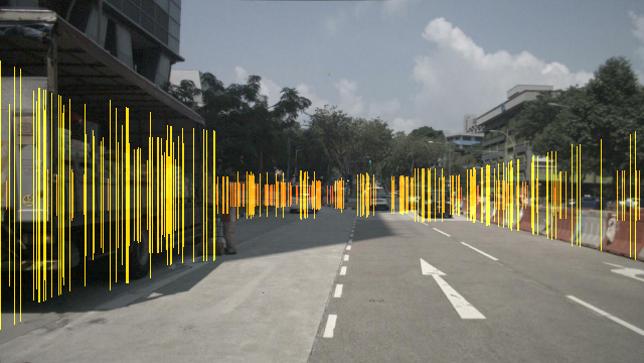 Radar Augmented Image Example
