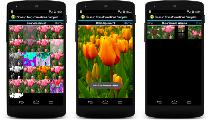 The Android Arsenal - Image Processing - picasso-transformations