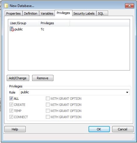TUTORIAL – Creating a PostGIS -database for QGIS PART 1
