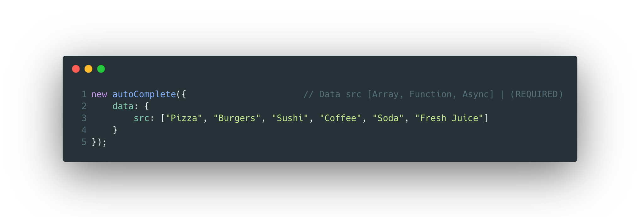 autoComplete.js Code Example
