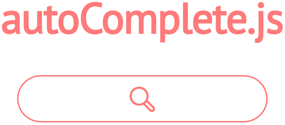 Simple autocomplete pure vanilla Javascript library - autoComplete.js