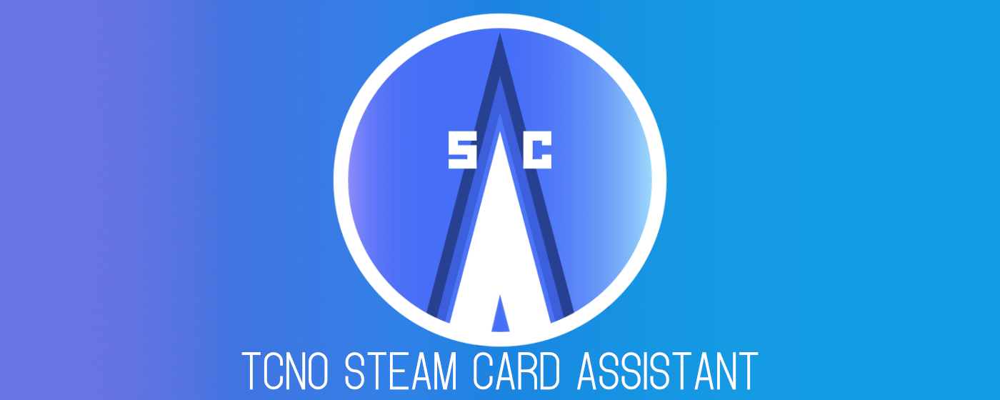 TcNo Steam Card Assistant Logo