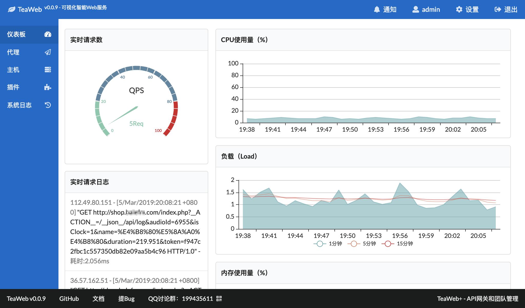 TeaWeb - 可视化的Web代理服务