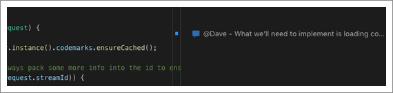 Codemark in Source File