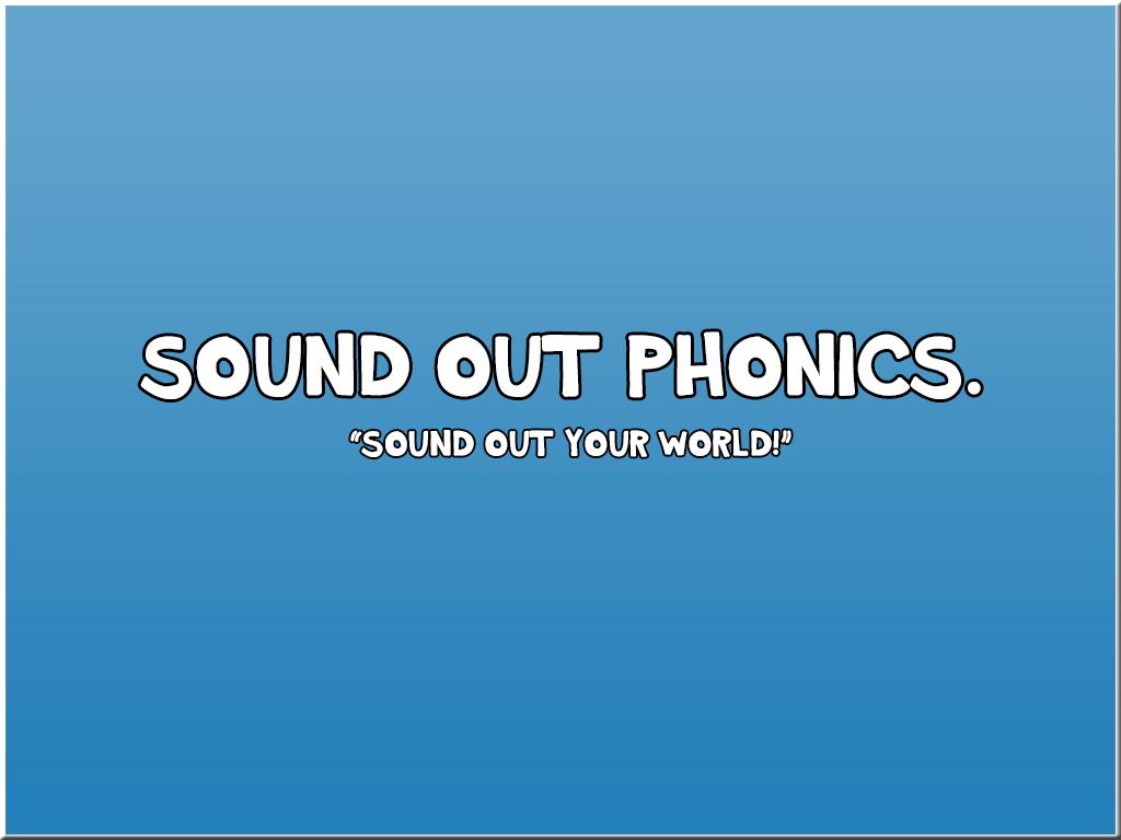 SoundOutPhonics
