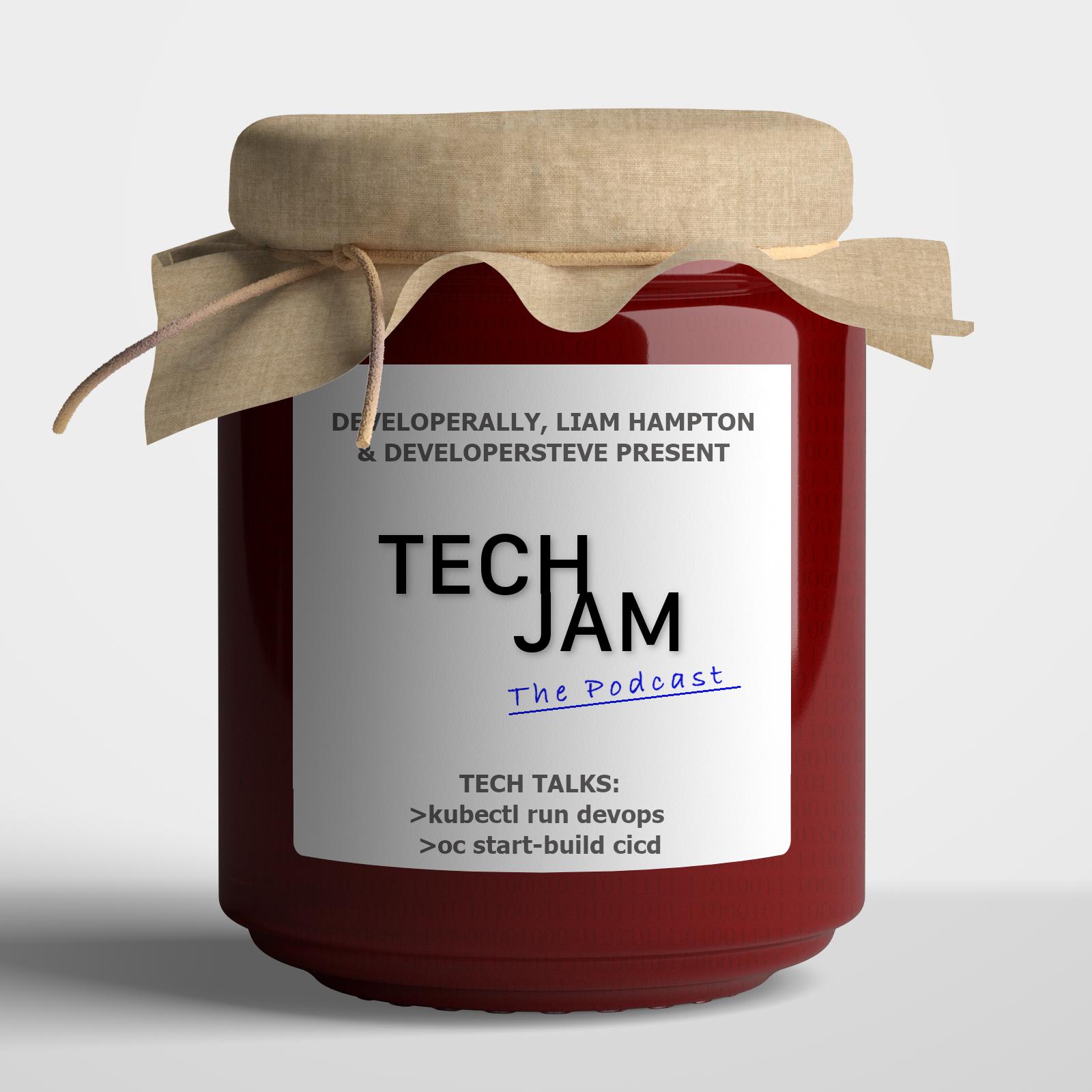 Tech Jam podcast episode 8 series 1 image