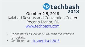 TechBash 2018 Slide - Light Theme