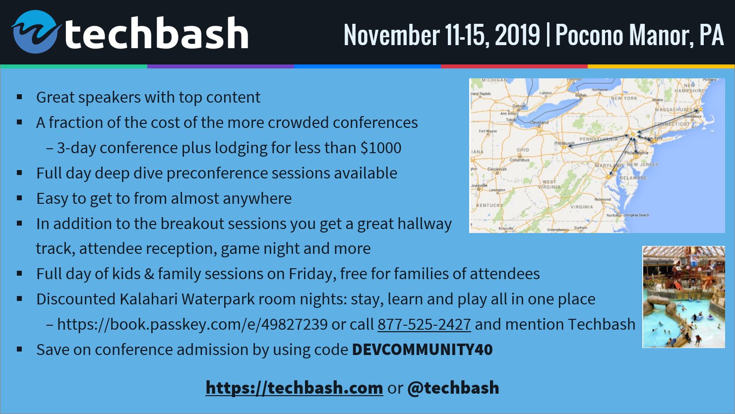 TechBash 2019 - Dark Slide