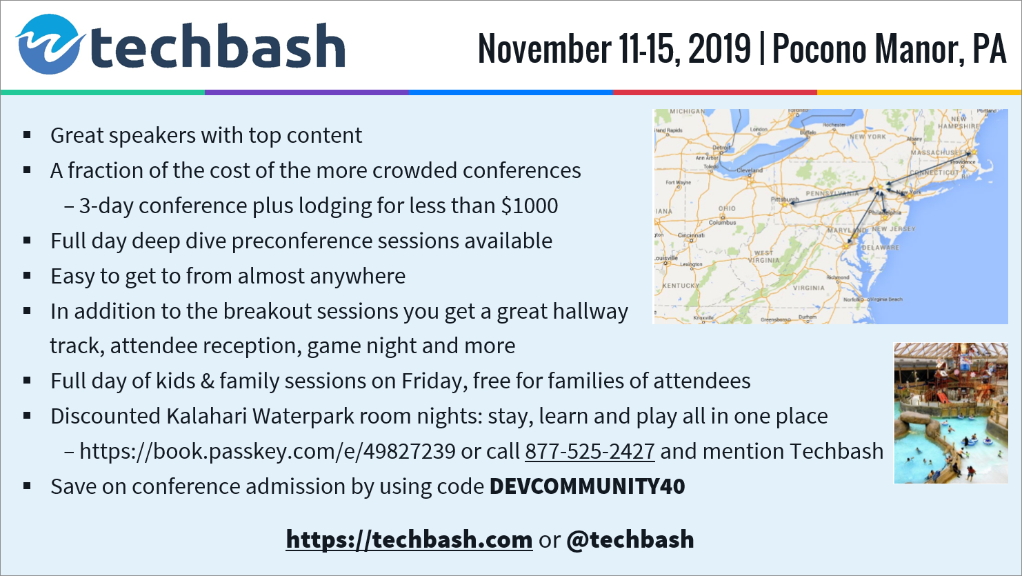 TechBash 2019 - Light Slide