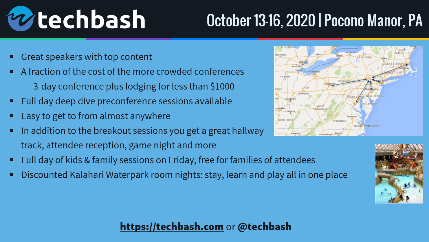 TechBash 2020 - Dark Slide