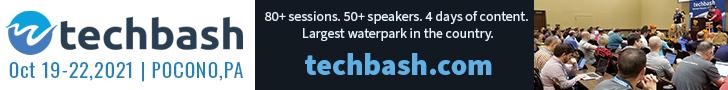 Register for Techbash 2021 developer conference at techbash.com