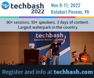 Register for Techbash 2022 developer conference at techbash.com