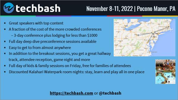 TechBash 2022 - Dark Slide