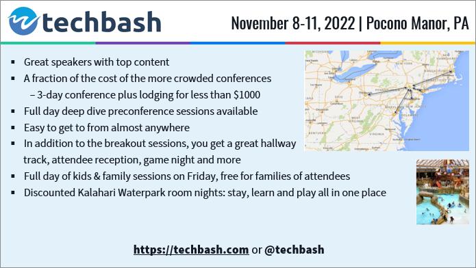 TechBash 2022 - Light Slide