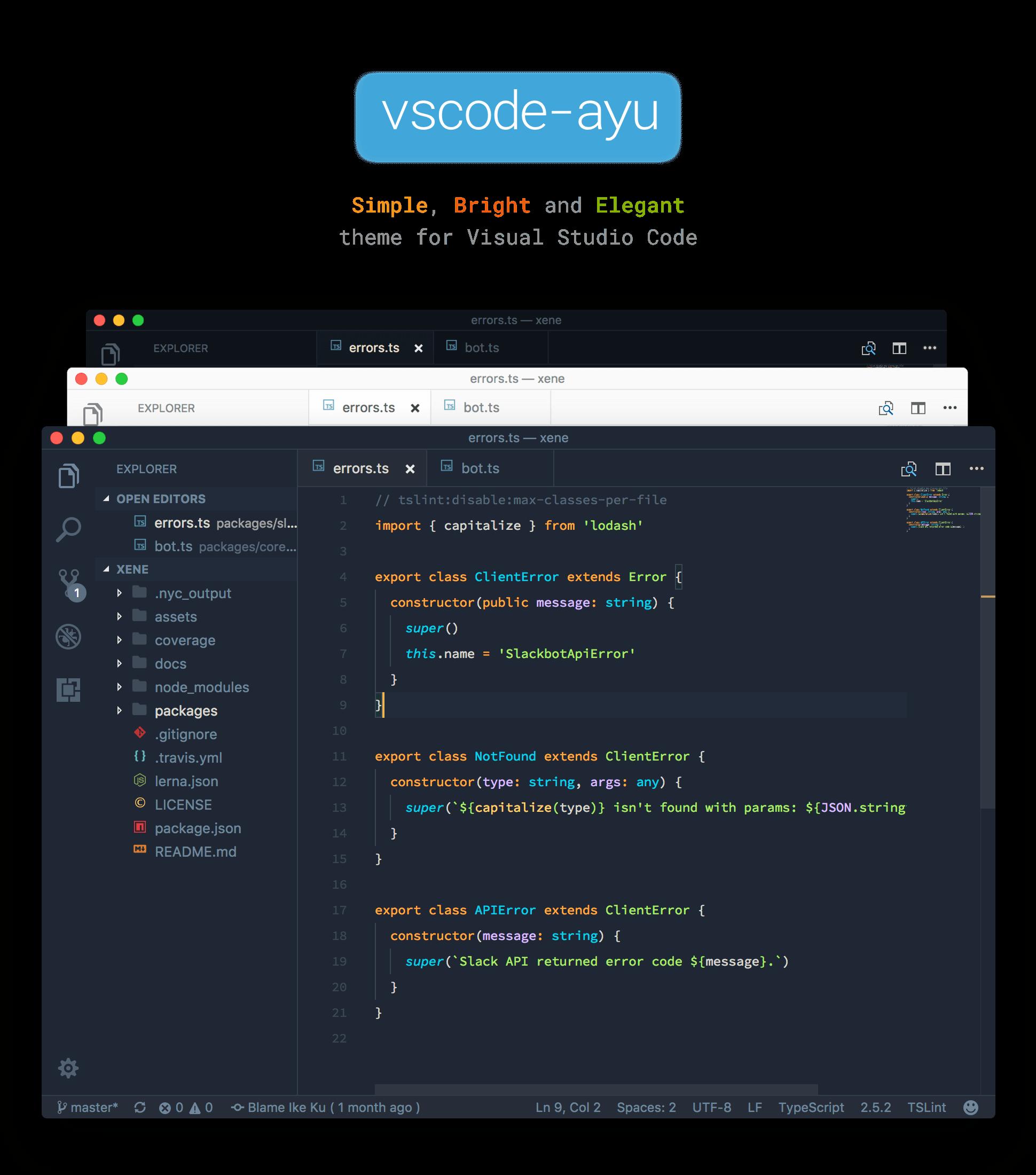 vscode-ayu