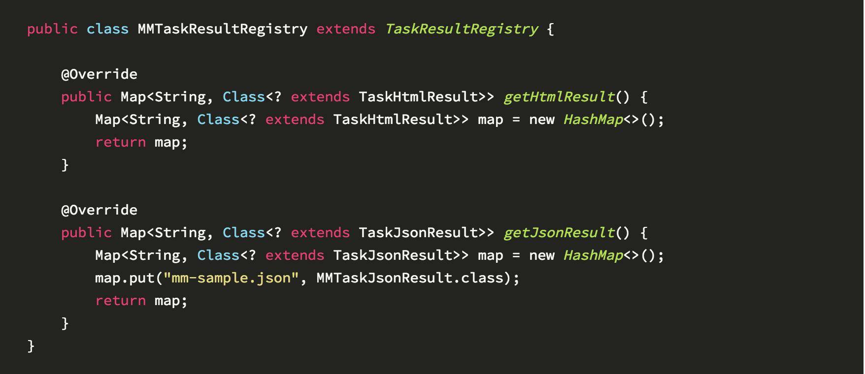 taskresultregistry