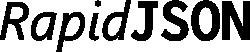 RapidJSON logo
