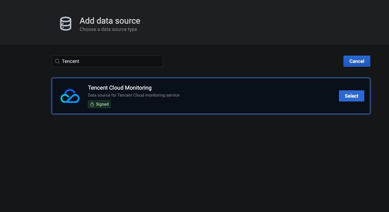 Datasource Add
