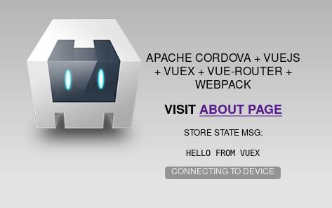 Cordovue app