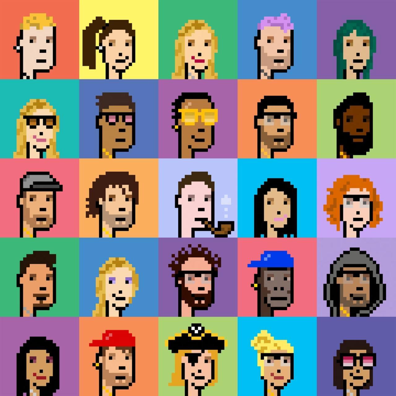 the pixel portraits - 像素肖像