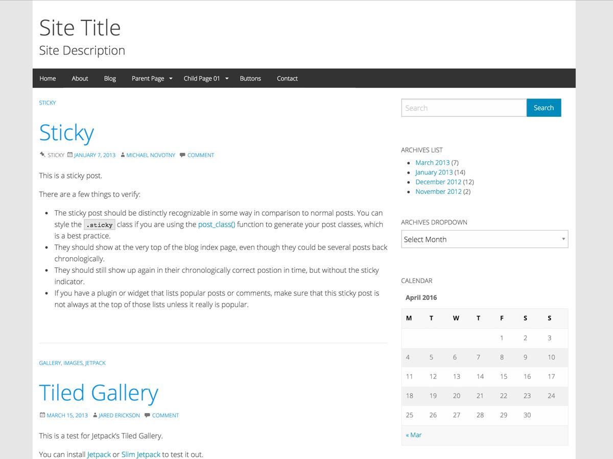 WP-Forge Screenshot