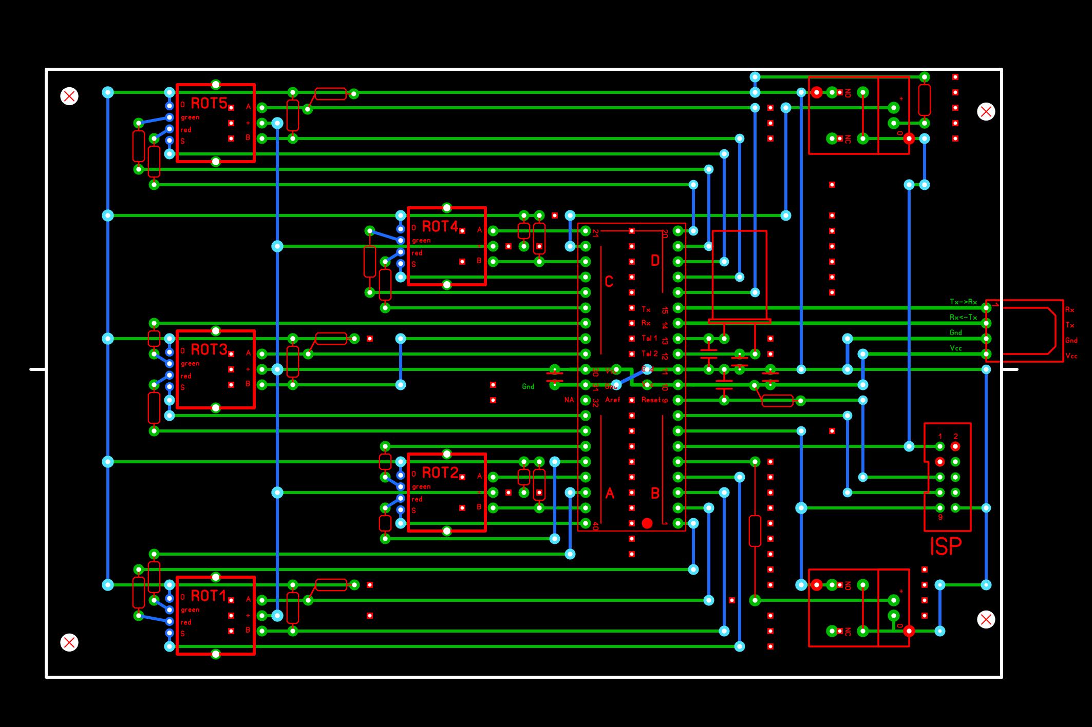 GitHub - ThiefMaster/rotaryboard: AVR-based hardware controller for ...