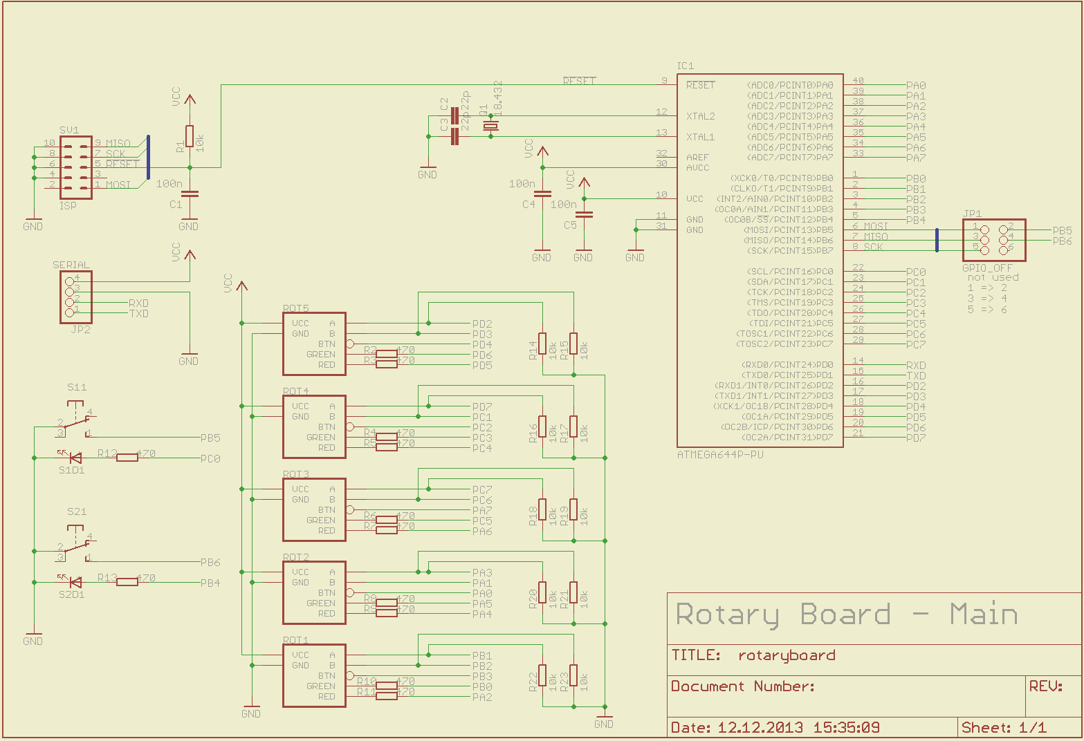 Github Thiefmaster Rotaryboard Avr Based Hardware Controller For Eagle Schematics And