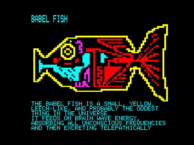 BABEL FISH by horsenburger