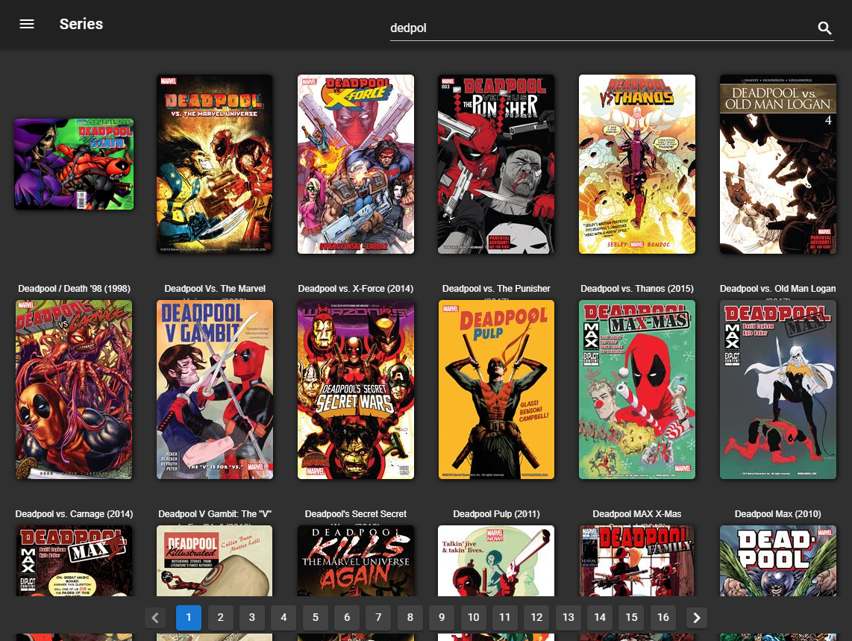 ComicRack User Forum: ComicBIn - A Web based comic reader (1/1)