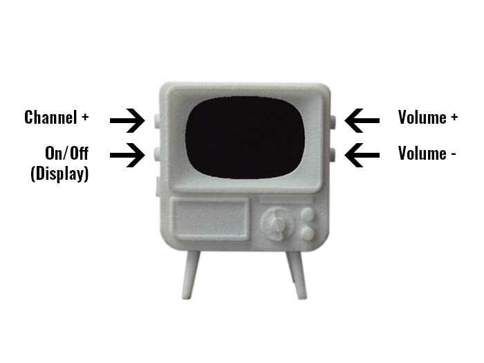 TinyTV Button functions