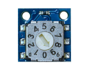 TinyCircuits Rotary Switch Wireling product photo