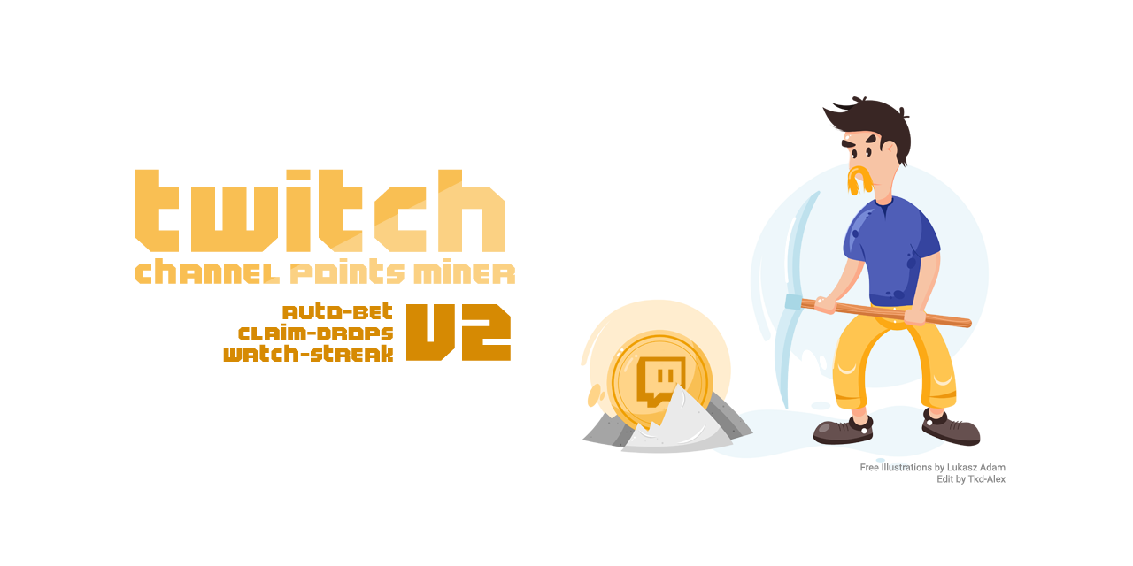 Twitch Channel Points Miner - v2
