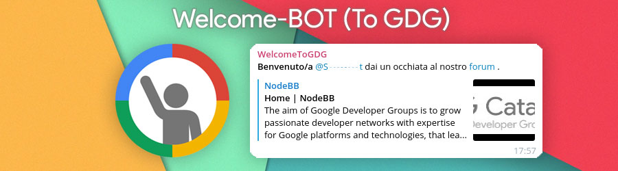 Welcome-BOT(To GDG)