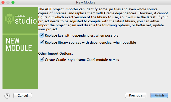 Import Module Step3