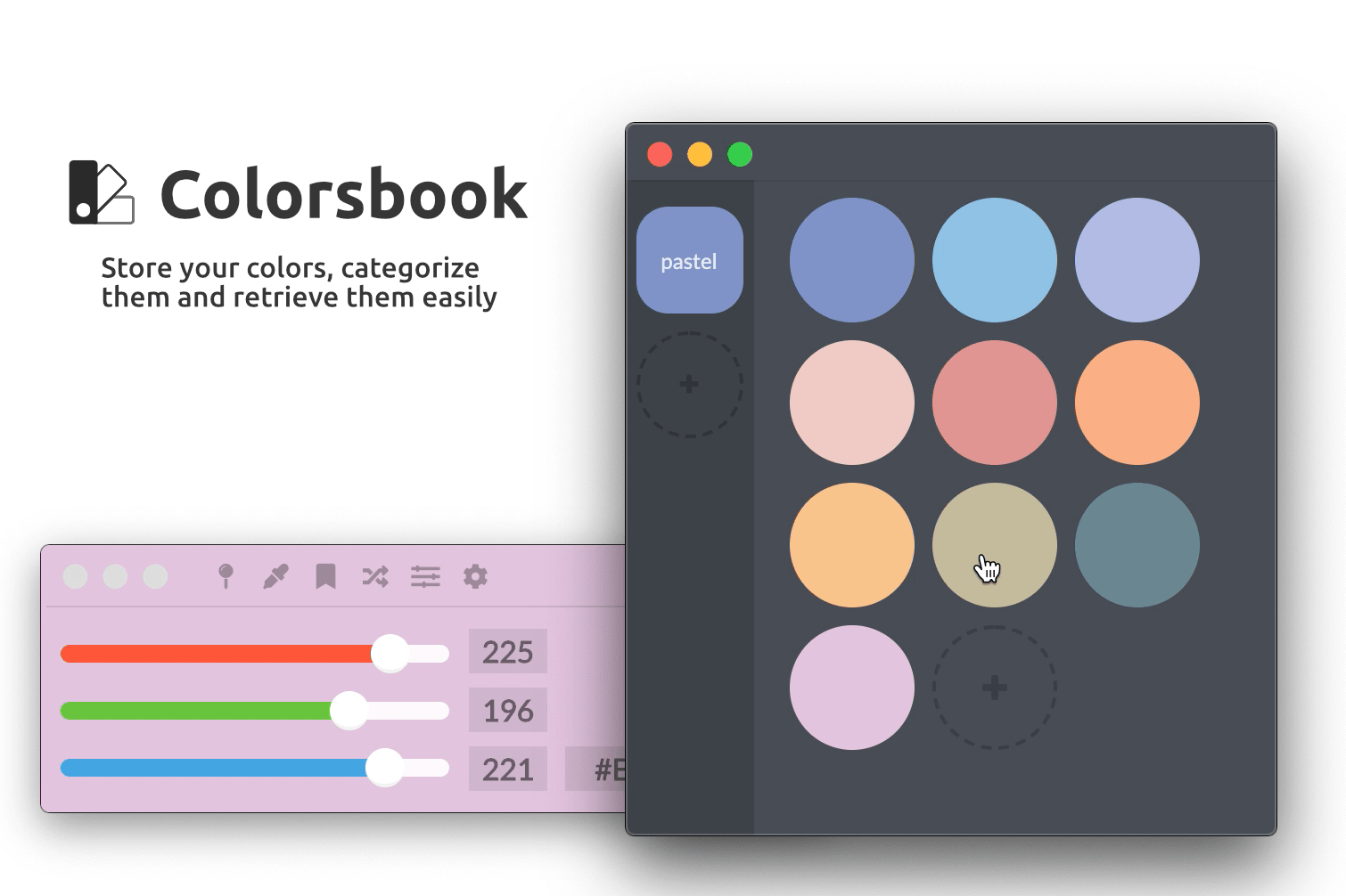 Colorsbook screenshot