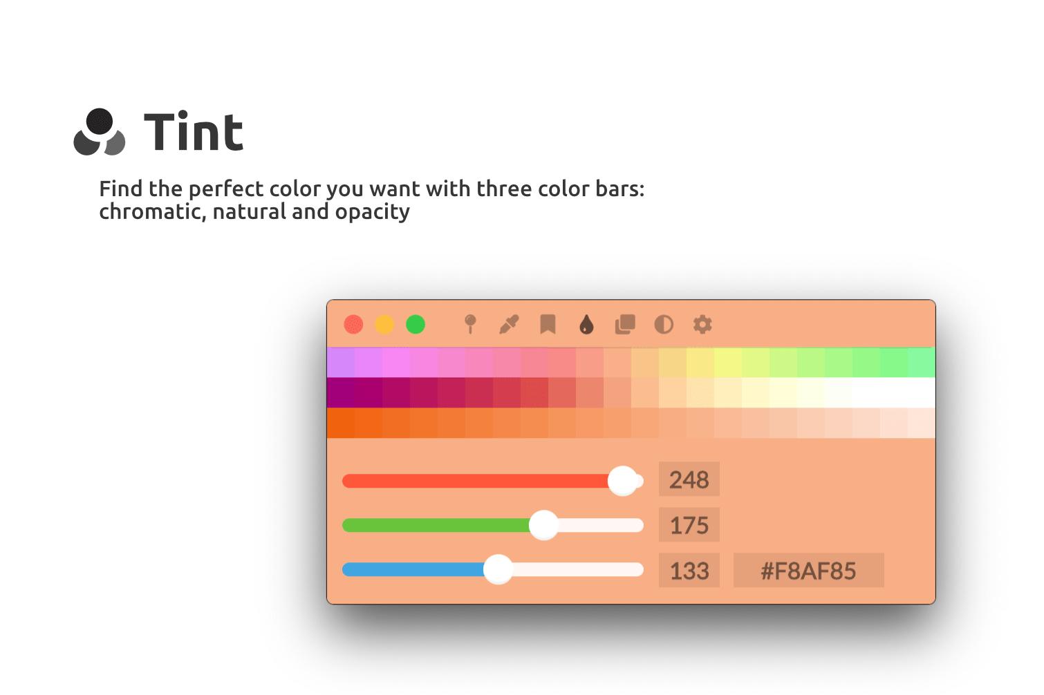 Tint screenshot