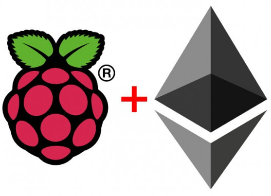 Ethereum love Raspberry Pi