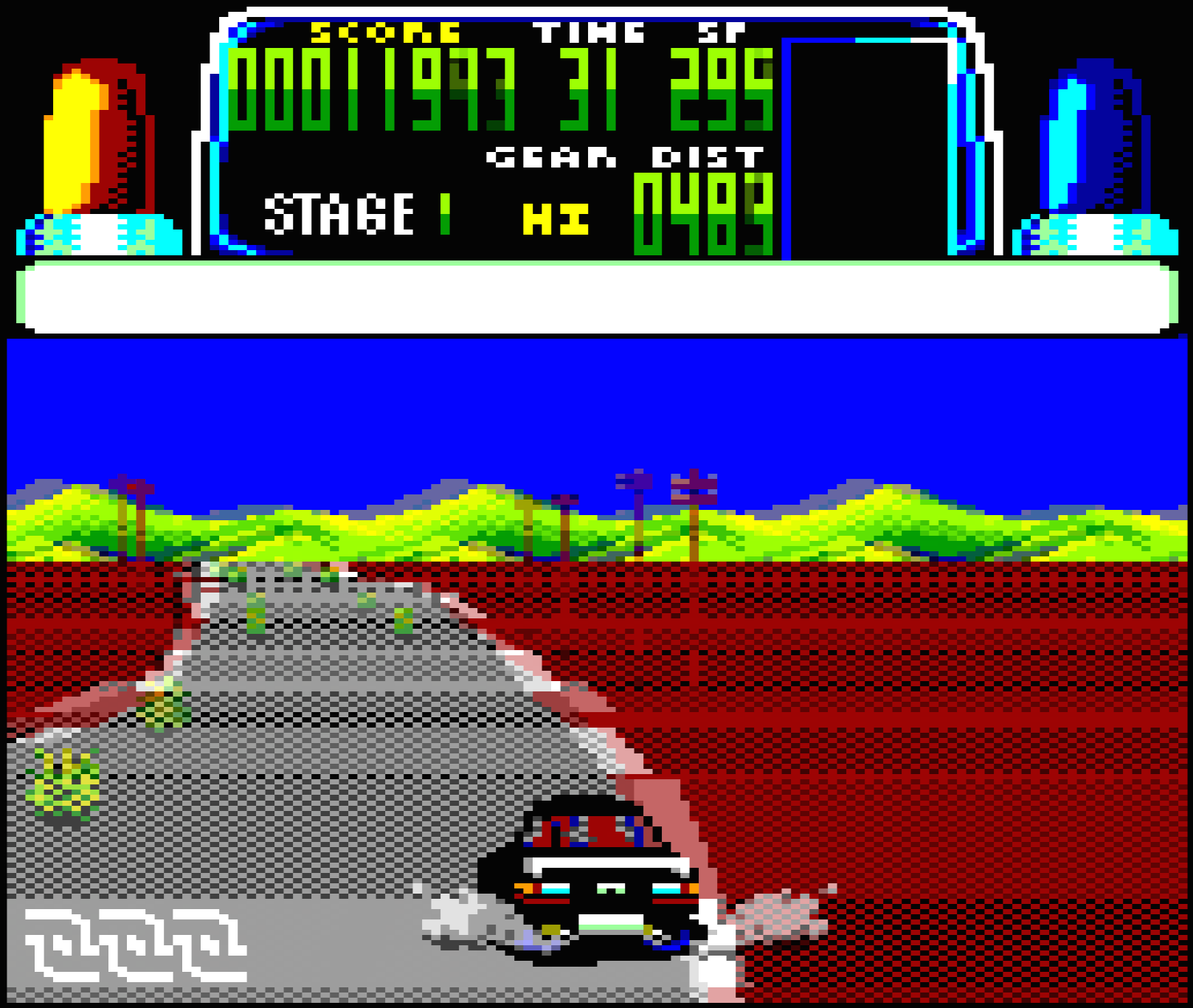Amstrad CPC Chase HQ