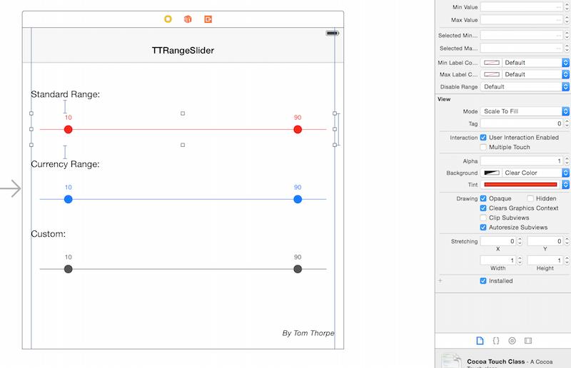 Interface Builder Screenshot