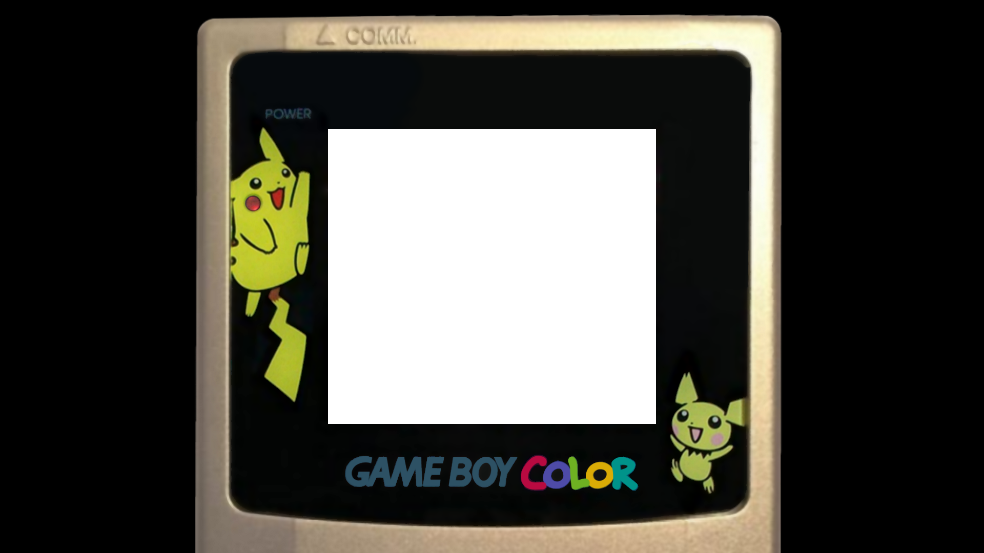 Game Boy Color - Pokemon Gold