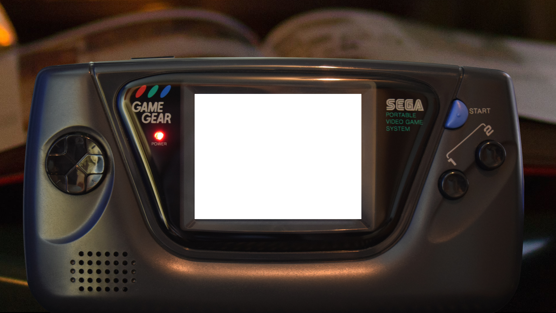 Game Gear with Background 2