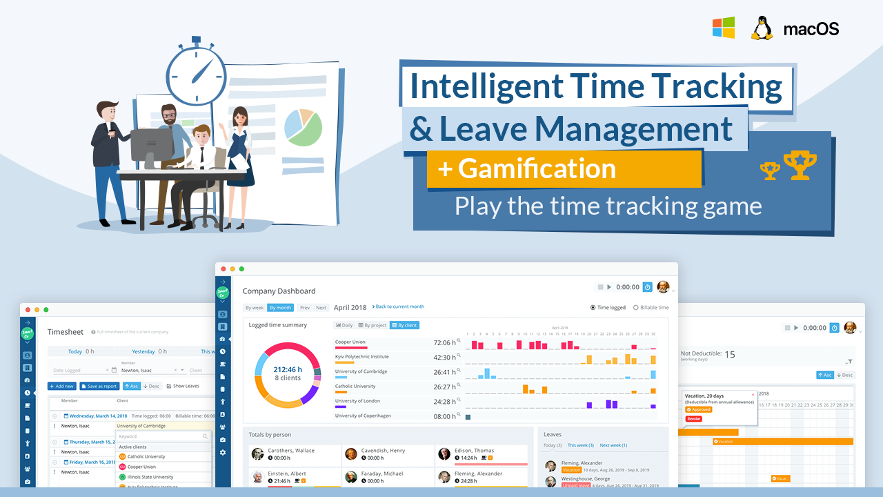 Trackabi — Free time tracking & leave management
