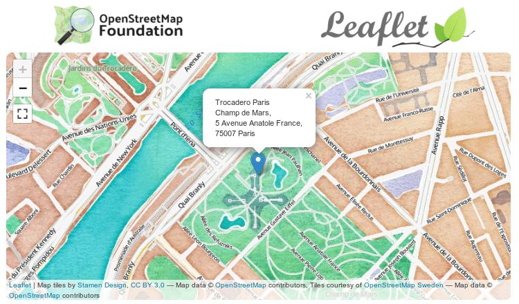 Simple OpenStreetMap