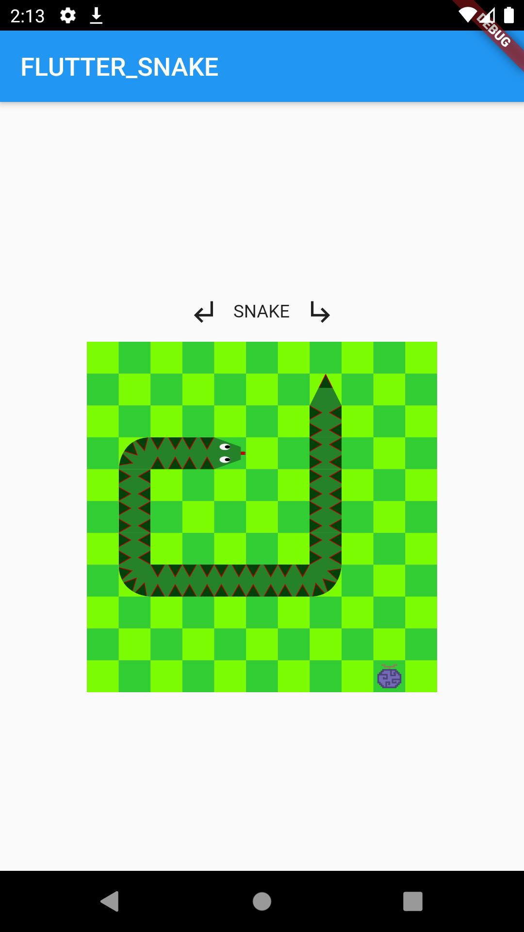 A big snake
