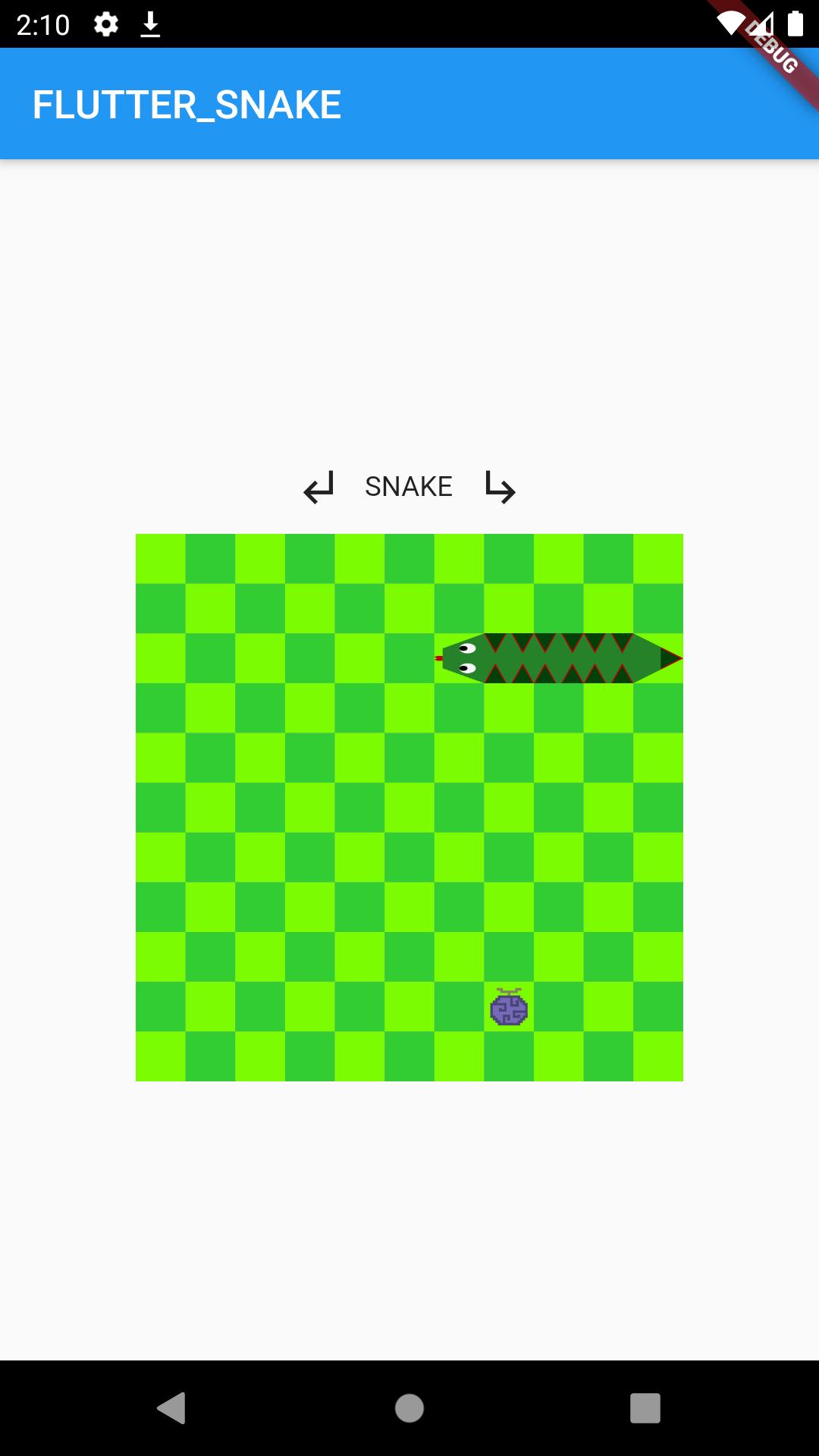 A little snake