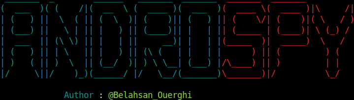 BASH [ Androspy : Backdoor Crypter & Creator with Automatic