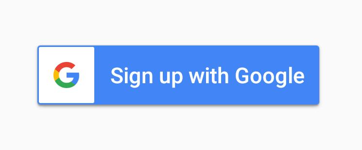 Google Sign-In Dark