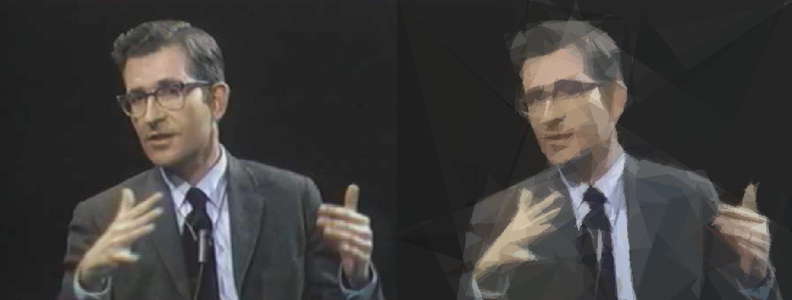 Geometrized Chomsky