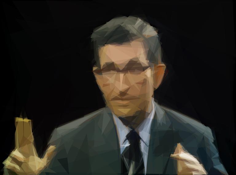 Geometrized Chomsky 300 Triangles