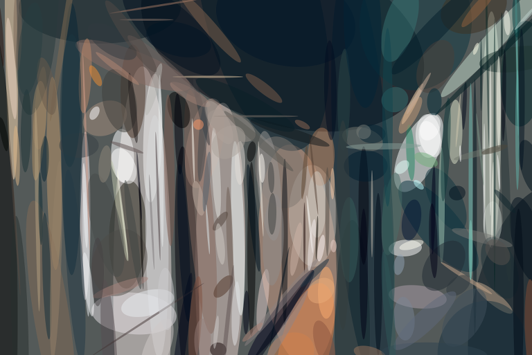 Geometrized Train 230 Rotated Ellipses